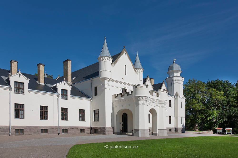 Alatskivi castle in Estonia