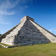 El Castillo (also known as Temple of Kuklcan) at the ancient Mayan ruins at Chichen Itza, Yucatan, Mexico 081216093012_4429.NEF