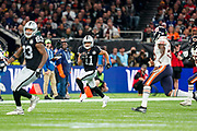 Oakland Raiders (WR) Trevor Davis in action during the International Series match between Oakland Raiders and Chicago Bears at Tottenham Hotspur Stadium, London, United Kingdom on 6 October 2019.