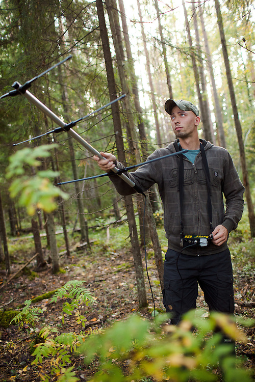 Martin Absalon, Tracking flying squirrels