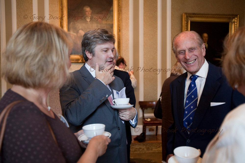 HRH The Duke of Edinburgh presents RSE Royal Medals to leading Scottish chemist, Sir Fraser Stoddart, and Scotland's foremost composer, Dr James MacMillan;.Monday 9 August, Edinburgh