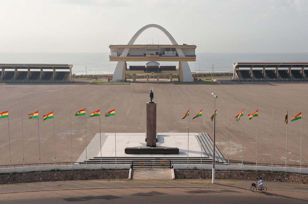 View of Independence Square, Accra, Ghana 2011
