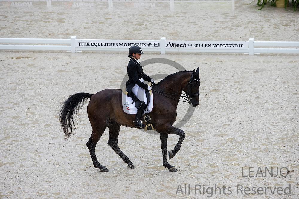 Ellen Birgitte Farbrot - Tailormade Akon Askelund<br /> Alltech FEI World Equestrian Games&trade; 2014 - Normandy, France.<br /> &copy; DigiShots