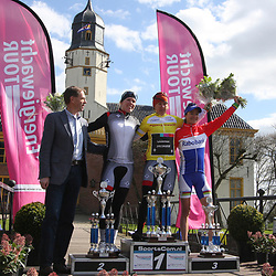 Energiewacht Tour 2012 Slochteren GC won by Ina Yoko Teutenberg, 2nd Ellen van Dijk and 3th Marianne Vos