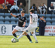 Dundee's Paul McGowan goes past Inverness Caledonian Thistle&rsquo;s Ryan Christie - Dundee v Inverness Caledonian Thistle - SPFL Premiership at Dens Park <br /> <br />  - &copy; David Young - www.davidyoungphoto.co.uk - email: davidyoungphoto@gmail.com