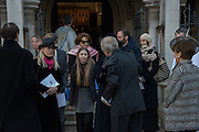 Service of Thanksgiving for the life of Edward Baron Montagu of Beaulieu. St. Margaret's Westminster. London. 20 January 2016