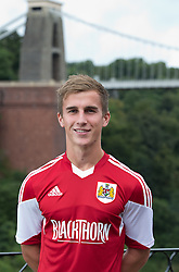 Joe Bryan of Bristol City - Photo mandatory by-line: Kieran McManus/JMP - Tel: Mobile: 07966 386802 31/07/2013 - SPORT - FOOTBALL - Avon Gorge Hotel - Clifton Suspension bridge - Bristol -  Team Photo