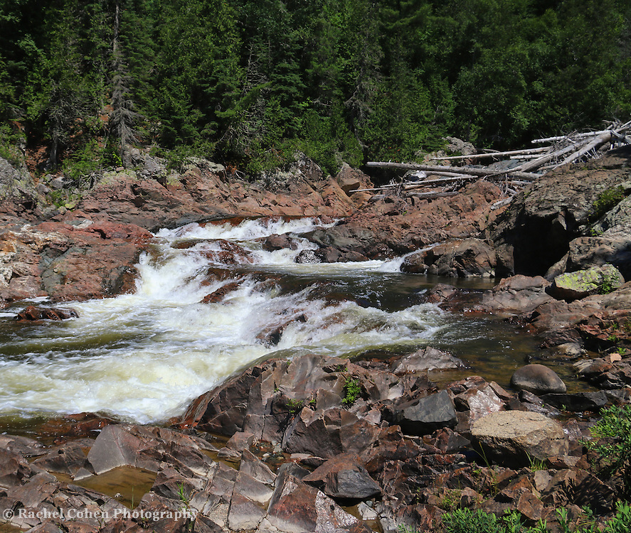 &quot;At Chippewa Falls&quot; <br />