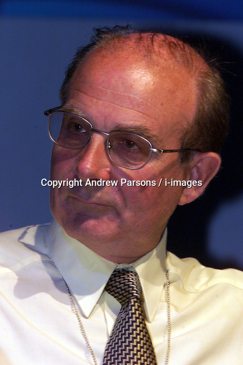 DAVID HART GENERAL SECRETARY during The National Association of Head Teachers annual conference, Jersey, June 2, 2000. Photo by Andrew Parsons / i-images..