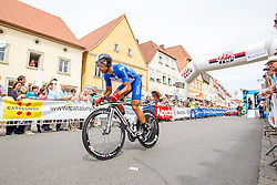 Radsport: 36. Bayern Rundfahrt 2015 / 4. Etappe, Zeitfahren, Hassfurt, 16.05.2015<br /> Cycling: 36th Tour of Bavaria 2015 / Stage 4, <br /> time trial, Hassfurt, 16.05.2015<br /> # 22 Bouhanni, Nacer (FRA, Team COFIDIS, SOLUTIONS CREDITS)