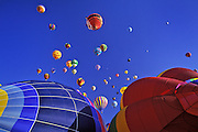 Image of the Albuquerque International Balloon Fiesta in Albuquerque New Mexico, American Southwest