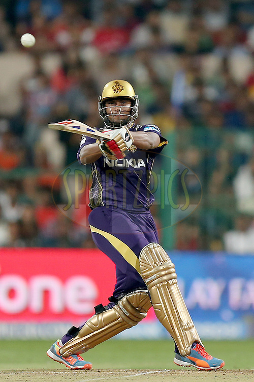 Shakib Al Hasan during the final of the Pepsi Indian Premier League Season VII 2014 between the Kings XI Punjab and the Kolkata Knight Riders held at the M. Chinnaswamy Stadium, Bangalore, India on the 1st June 2014. Photo by Jacques Rossouw / IPL / SPORTZPICS<br /> <br /> <br /> <br /> Image use subject to terms and conditions which can be found here:  http://sportzpics.photoshelter.com/gallery/Pepsi-IPL-Image-terms-and-conditions/G00004VW1IVJ.gB0/C0000TScjhBM6ikg