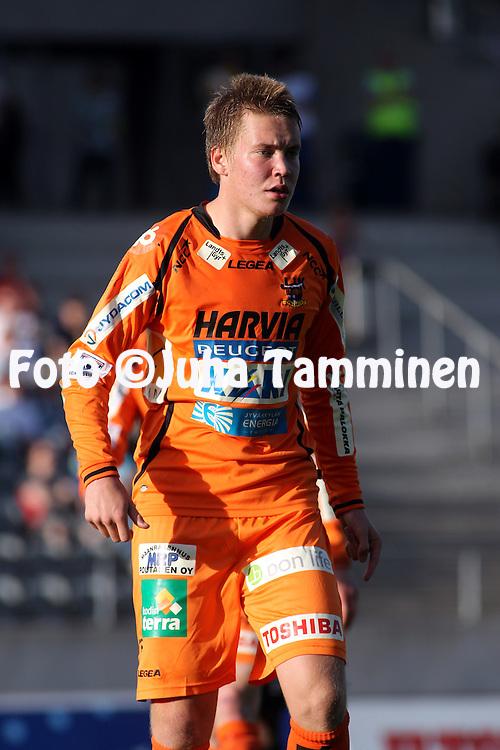 01.06.2010, Stadion, Lahti..Veikkausliiga 2010, FC Lahti - JJK Jyv?skyl?..Samu Nieminen - JJK.©Juha Tamminen.