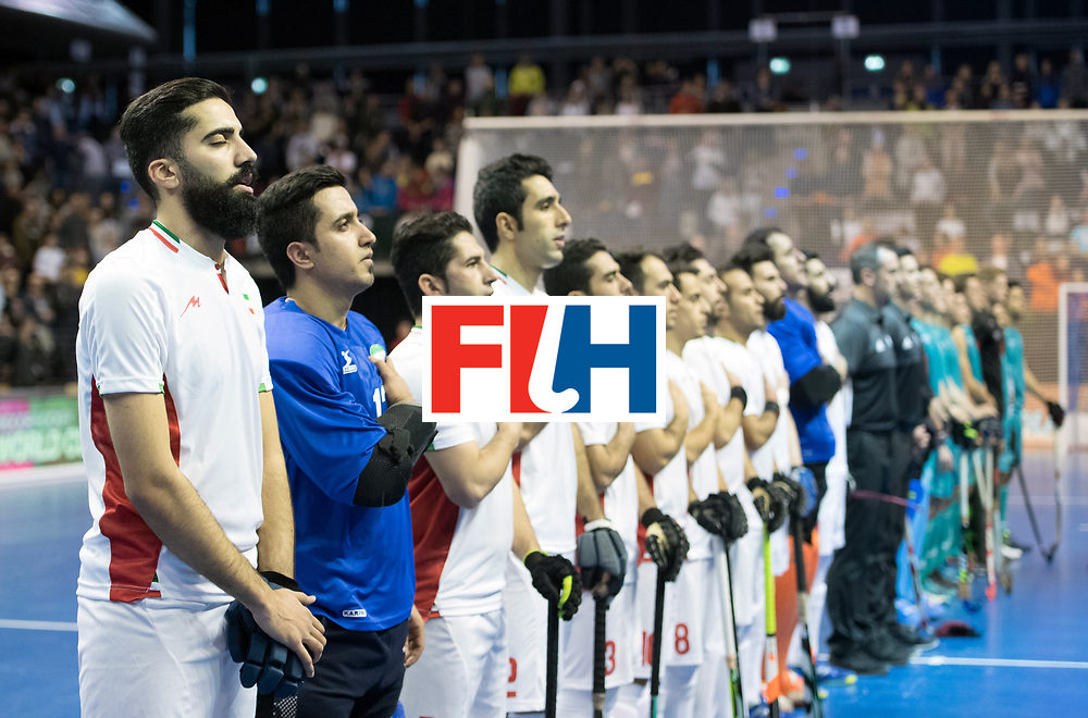 BERLIN - Indoor Hockey World Cup<br /> Bronze: Iran - Australia<br /> foto: Iran<br /> WORLDSPORTPICS COPYRIGHT FRANK UIJLENBROEK