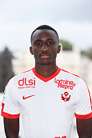 Modou DIAGNE during photoshooting of As Nancy Lorraine for new season 2017/2018 on September 12, 2017 in Nancy, France. (Photo by Fred Marvaux/Icon Sport)