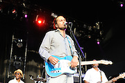 Citizen Cope performing at the Lifestyles Community Pavilion in Columbus, OH on July 21, 2010