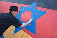 antisemitic damage East Side Gallery