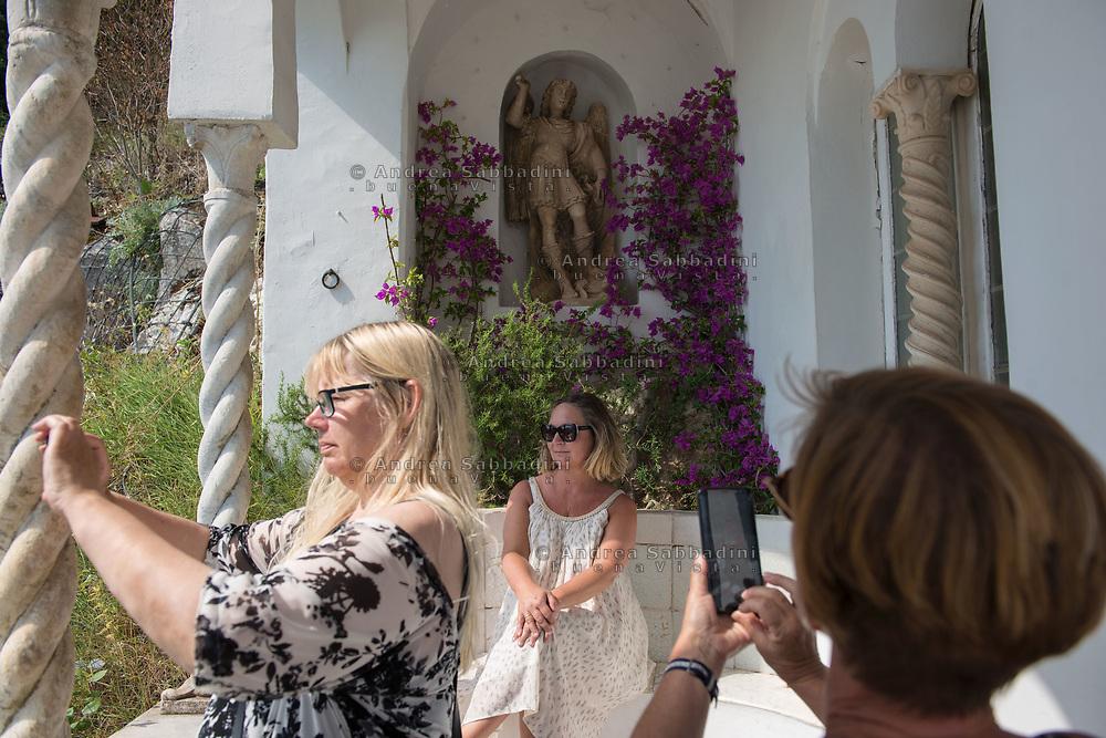 Capri, 29/06/2018: Villa San Michele, Anacapri.<br /> &copy; Andrea Sabbadini