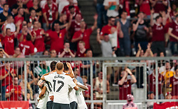 01.08.2017, Allianz Arena, Muenchen, GER, Audi Cup, FC Bayern Muenchen vs FC Liverpool, im Bild Jubel Liverpool Ragnar Klavan (FC Liverpool) // during the Audi Cup Match between FC Bayern Munich and FC Liverpool at the Allianz Arena, Munich, Germany on 2017/08/01. EXPA Pictures © 2017, PhotoCredit: EXPA/ JFK