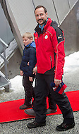 Oslo 07-02-2016<br /> <br /> <br /> King Harald and Queen Sonja,Crown Prince Haakon and Crown Princess Mette Marit with Princess Ingrid Alexandra and Prince Sverre Magnus attend the Holmenkollen ski Championship.<br /> <br /> Royalportraits Europe/Bernard Ruebsamen