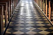 Nederland, Leuth, 30-3-2018Lege kerkbanken in de katholieke kerk van de dorp . Dit kerkgebouw wordt niet meer voor vieringen gebruikt en gaat mogelijk verbouwd worden tot appartementen .Foto: Flip Franssen