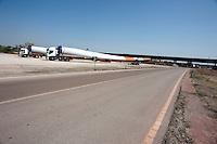 Taranto 10 settembre 2012.All'interno del Porto Industriale di Taranto