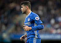 Football - 2016/2017 Premier League - Chelsea V Leicester.<br /> <br /> Diego Costa of Chelsea at Stamford Bridge.<br /> <br /> COLORSPORT/DANIEL BEARHAM