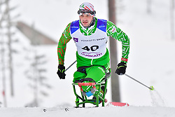 SHYKUTS Arkadz, BLR, LW12 at the 2018 ParaNordic World Cup Vuokatti in Finland