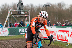 Sanne van Paassen (NED), Women, Cyclo-cross World Cup Hoogerheide, The Netherlands, 25 January 2015, Photo by Pim Nijland / PelotonPhotos.com