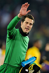 28.06.2010, Ellis Park Stadium, Johannesburg, RSA, FIFA WM 2010, Brazil (BRA) vs Chile. (CHI), im Bild Julio Cesar (Brasile). EXPA Pictures © 2010, PhotoCredit: EXPA/ InsideFoto/ Giorgio Perottino +++ for Austria and Slovenia only +++ / SPORTIDA PHOTO AGENCY