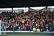 Sunderland fans during the EFL Sky Bet League 1 match between Portsmouth and Sunderland at Fratton Park, Portsmouth, England on 22 December 2018.