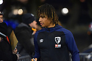 Nathan Ake (5) of AFC Bournemouth arriving at the Vitality Stadium before the Premier League match between Bournemouth and Chelsea at the Vitality Stadium, Bournemouth, England on 30 January 2019.