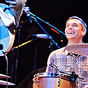 Joe Plummer of Mister Heavenly performs on November 30, 2010 opening for Passion Pit at the Moore Theatre in Seattle, Washington