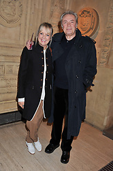 TWIGGY and LEIGH LAWSON at Cirque du Soleil's VIP night of Kooza held at the Royal Albert Hall, London on 8th January 2013.
