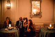 "Photo by Matt Roth.Assignment ID: 10137379A..Buffy and Bill Cafritz, Ann and Vernon Jordan, Vicki and Roger Sant threw an inaugural ""Bi-Partisan Celebration"" at the Dolley Madison Ballroom at the Madison Hotel in Washington, D.C. on Monday, January 21, 2013."