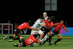 April 8, 2018 - Nanterre, Hauts de Seine, France - Racing 92 Hooker CAMILLE CHAT in action during the French rugby championship Top 14 match between Racing 92 and RC Toulon at U Arena Stadium in Nanterre - France..Racing 92 Won  17-13. (Credit Image: © Pierre Stevenin via ZUMA Wire)