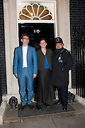 SAM CLARKE; SAMANTHA  CLARKE, Streetsmart Reception at 11 Downing St. London. 1 November 2011. <br /> <br />  , -DO NOT ARCHIVE-© Copyright Photograph by Dafydd Jones. 248 Clapham Rd. London SW9 0PZ. Tel 0207 820 0771. www.dafjones.com.