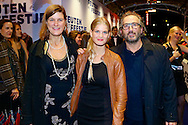 AMSTERDAM - In theater Tuschinski is de Nederlandse film 'Feuten het Feestje' in premiere gegaan. Met hier op de foto  Marcel Muster. FOTO LEVIN DEN BOER - PERSFOTO.NU