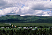 Susitna River Bridge, Bridge, Denali Highway, Alaska,