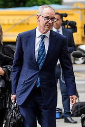 © Licensed to London News Pictures. 03/07/2017. London, UK. RICHARD BOATH arrives at Westminster Magistrates Court in London where he is charged with conspiracy to commit fraud. Barclays executives John Varley, Roger Jenkins, Thomas Kalaris and Richard Boath were charged by the Serious Fraud Office following events that took place at the height of the financial crisis, when Barclays avoided a taxpayer bailout by raising £11. 8bn in emergency funds from a number of major investors, including Qatar. Photo credit: Ben Cawthra/LNP