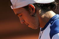Internationales ATP Turnier am Stuttgarter Weissenhof Herren Einzel  Simon GREUL (GER) enttaeuscht.