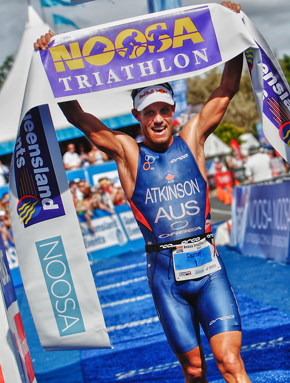 Triple Noosa Triathlon WInner Courtney Atkinson