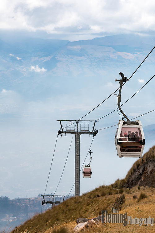 TelefériQo is one of the highest aerial lifts in the world, reaching a height of 3,945 m (12,943 ft).