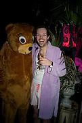 GORDON MARTIN, The Cuckoo Club's Pyjama Party. The Cuckoo Club, Swallow Street, London, W1, 2 April 2008 *** Local Caption *** -DO NOT ARCHIVE-© Copyright Photograph by Dafydd Jones. 248 Clapham Rd. London SW9 0PZ. Tel 0207 820 0771. www.dafjones.com.