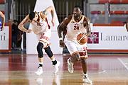 Lee Roberts<br /> Virtus Roma - Cuore Napoli Basket<br /> Campionato Basket LNP 2017/2018<br /> Roma 18/02/2018<br /> Foto Gennaro Masi / Ciamillo - Castoria