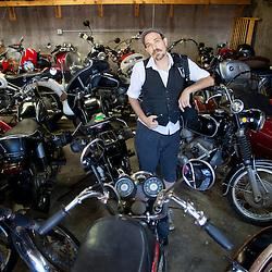 Shane Van Pelt and his Motorcycles