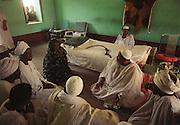Cadabbas, Sudan 052704  The sheik of Cadabbas holds hearings. (Essdras M Suarez/ Globe Staff)