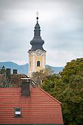 The clock tower and belfry, Mautern an der Donau, Austria
