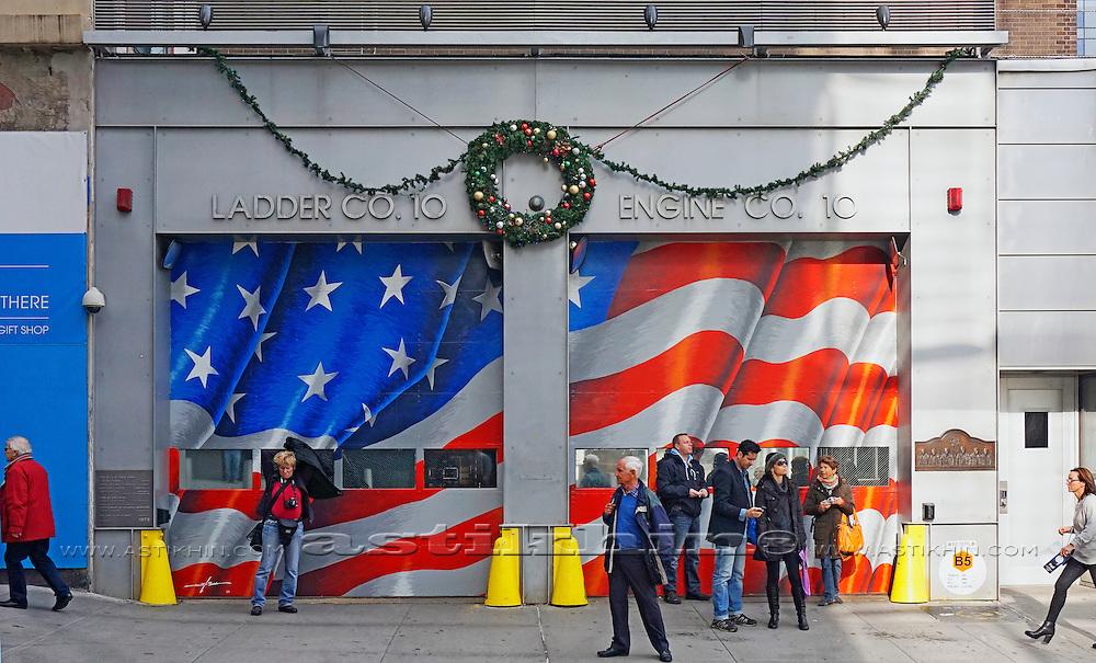 Ladder Co. 10, Manhattan, NYC.