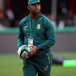 Mzwandile Stick (Backs Coach) of South Africa during the 2018 Castle Lager Incoming Series 1st Test match between South Africa and England at Emirates Airline Park,<br /> Johannesburg.South Africa. 09,06,2018 Photo by (Steve Haag Sports)